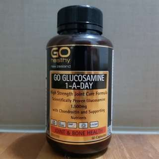 Glucosamine 1,500mg (Made in New Zealand)