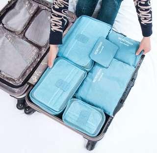 6pcs Travel luggage Organiser set
