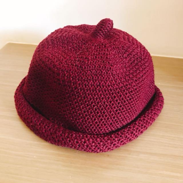 全新✨可愛丸子帽