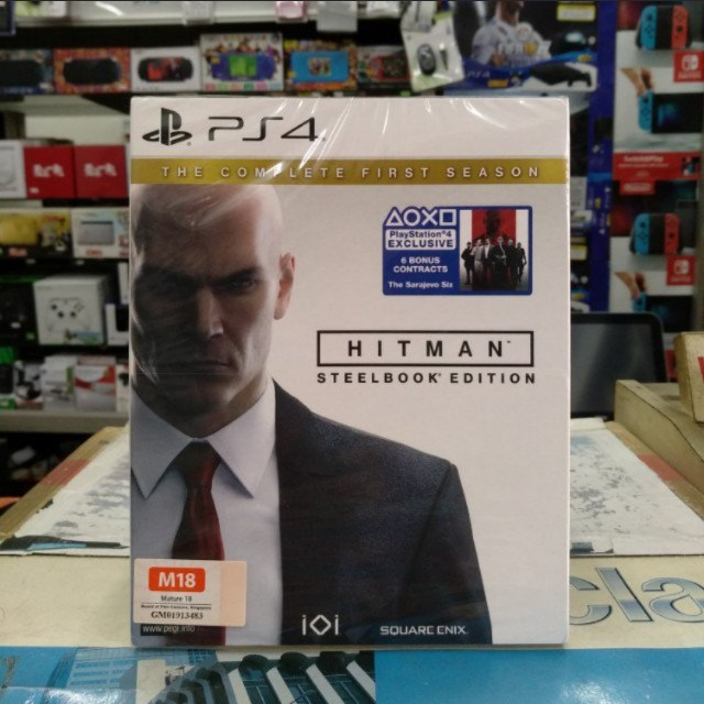 🆕 PS4 Hitman The Complete First Season SteelBook Edition