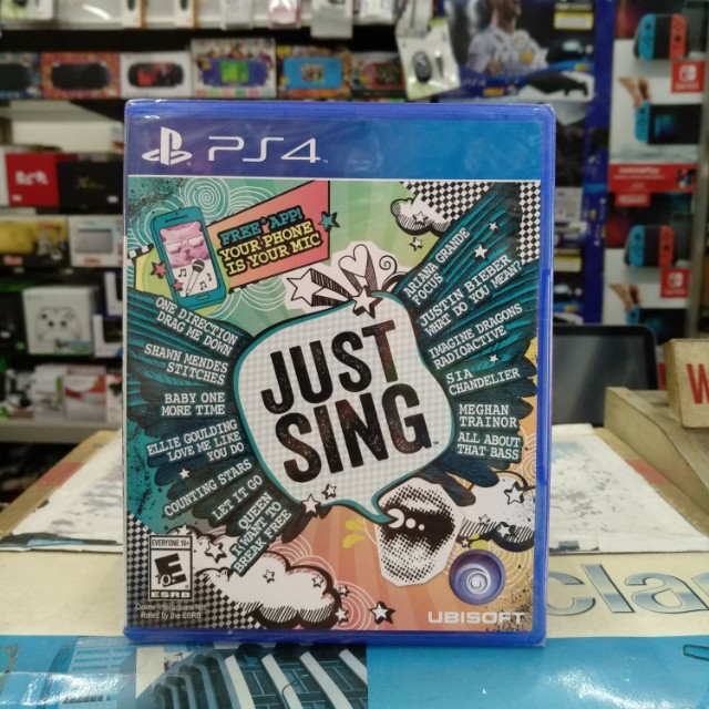🆕 PS4 Just Sing