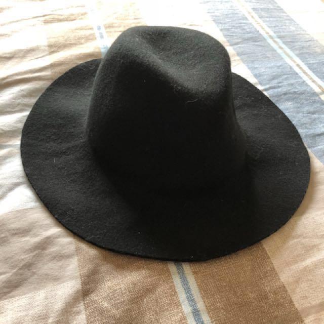 正韓 Zara 羊毛紳士帽