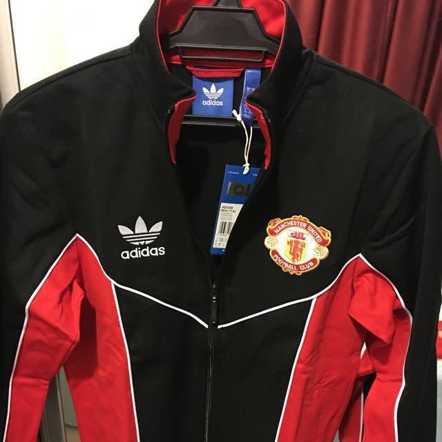 promo code 7d669 3bf19 Adidas Originals Manchester United 1984 Retro Track Jacket