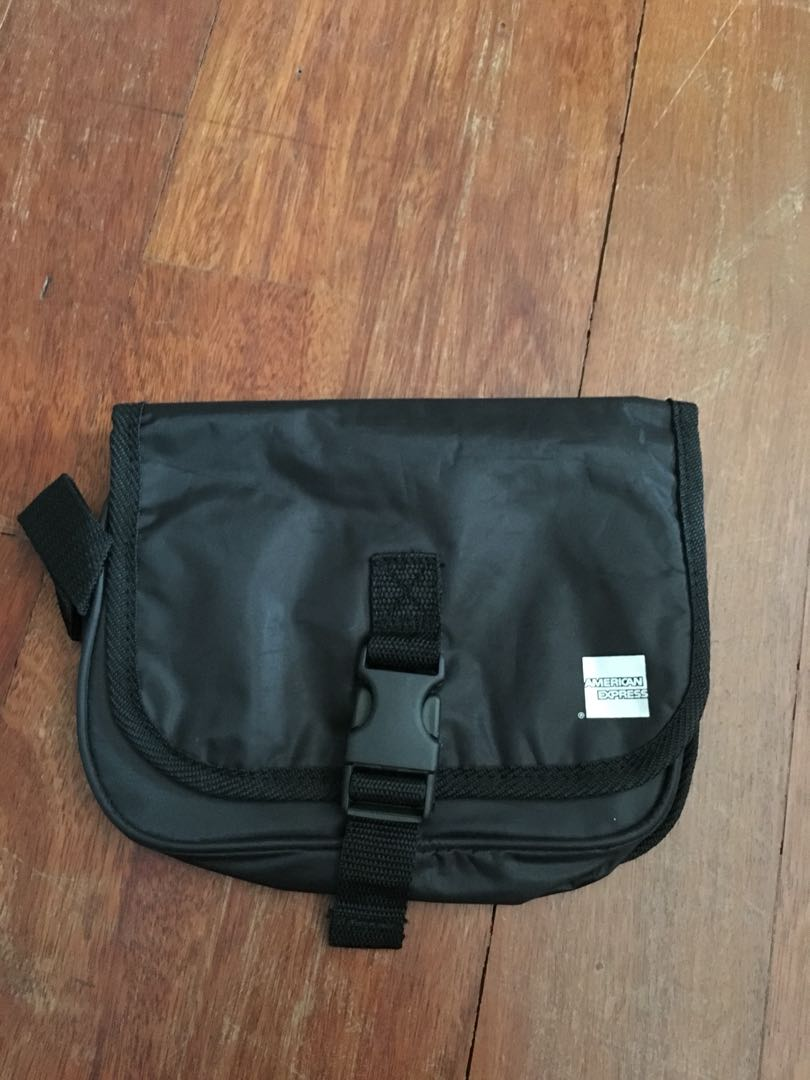 American express toiletry bag