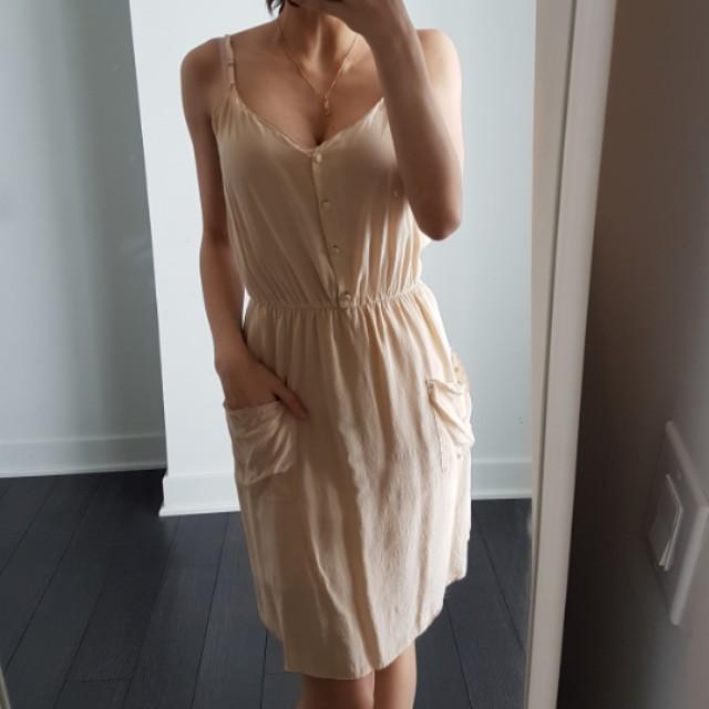 Aritzia T.Babaton silk dress xs
