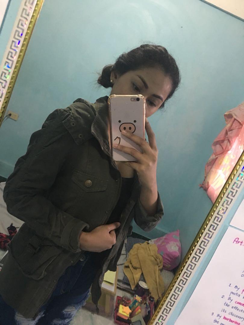 Army Green Maong Jacket