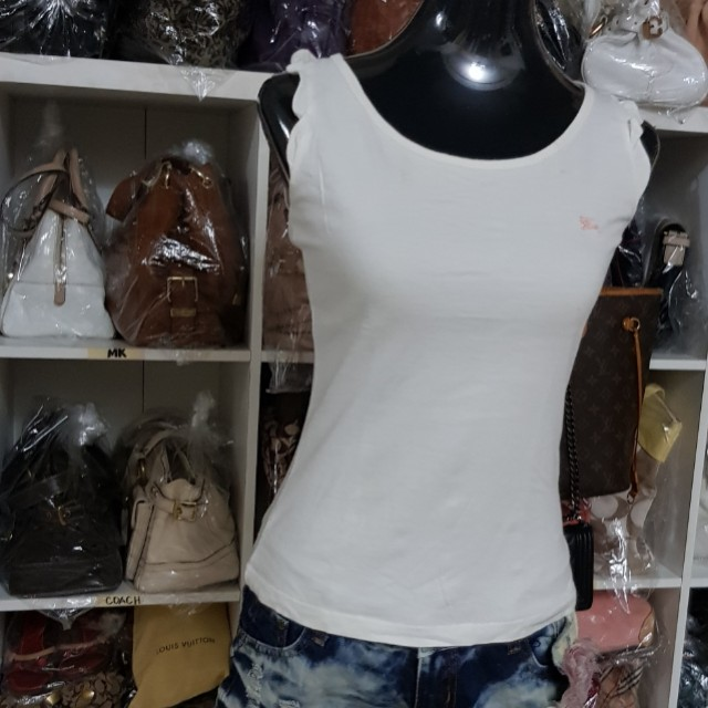 Authentic Burberry White top(BB#03)