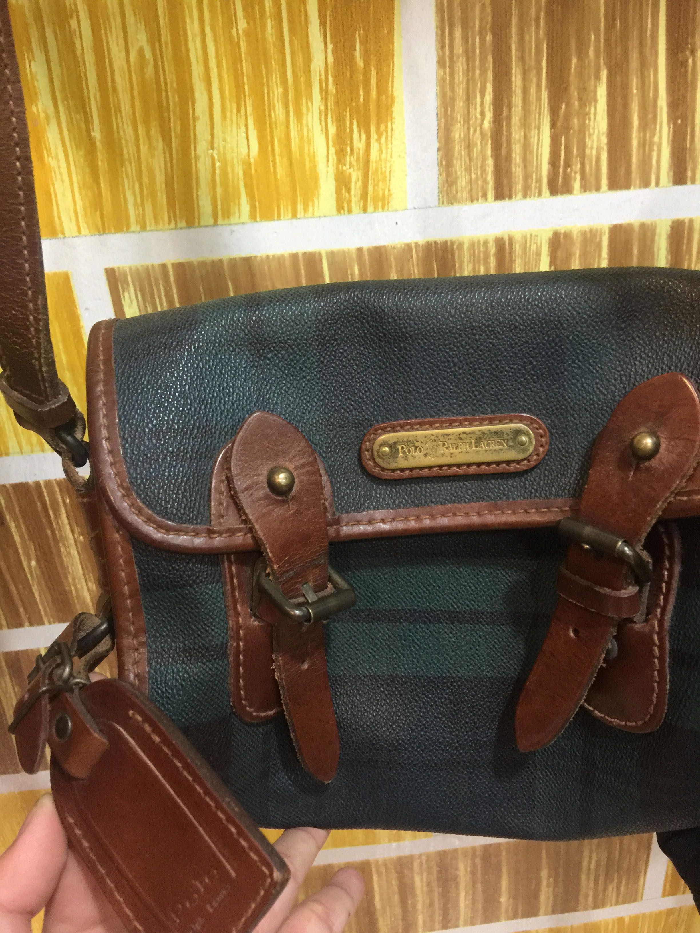 authentic Polo Ralph Lauren small sling bag