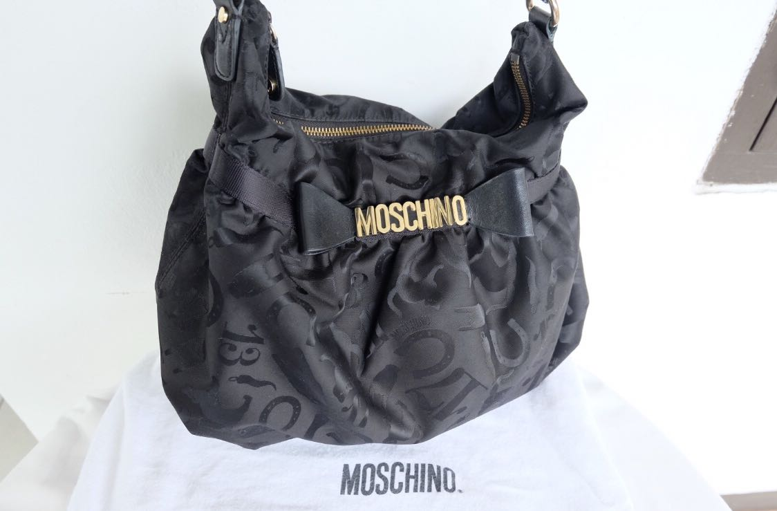 Authentic preloved moschino bag