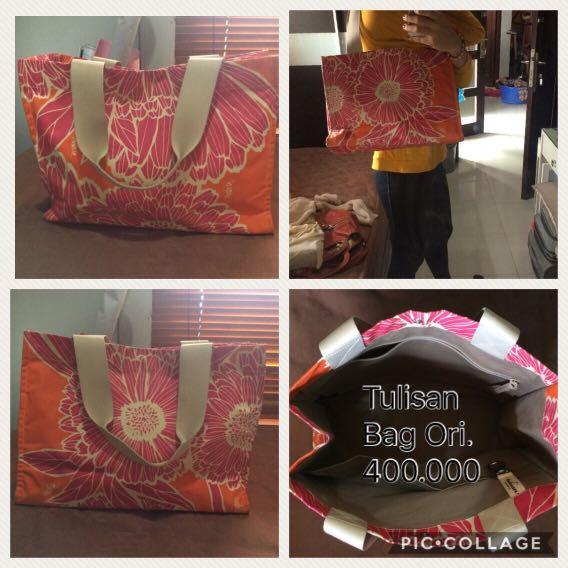 Authetic Tulisan Bag