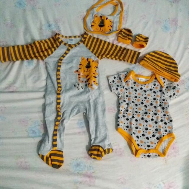 Baby boy cloth set