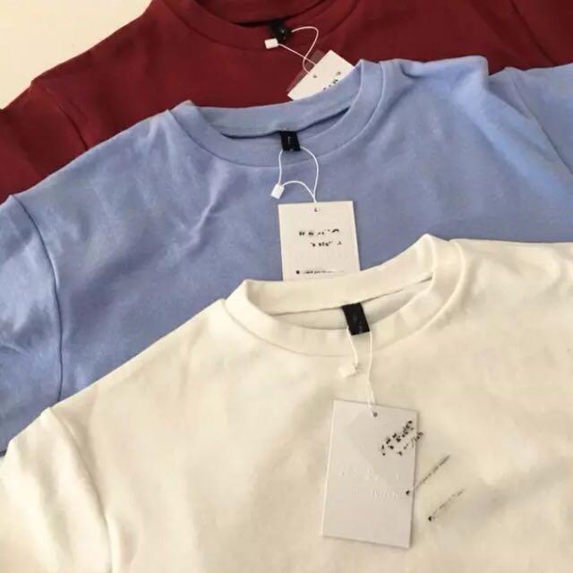 Basic Oversized Loose Top T-Shirt