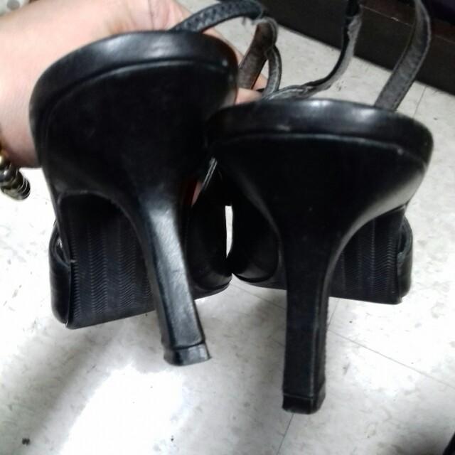 Bass Slingback black shoes