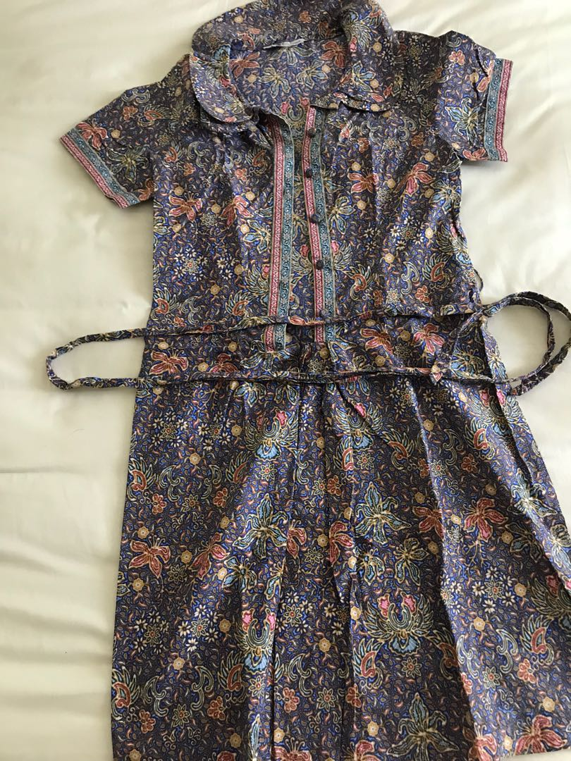 Batik keris dress wanita