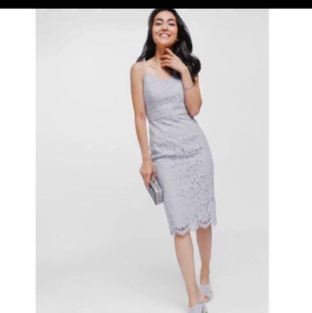 ebd4153ddd25 BN Love Bonito Dafena lace midi lace dress, Women's Fashion, Clothes ...