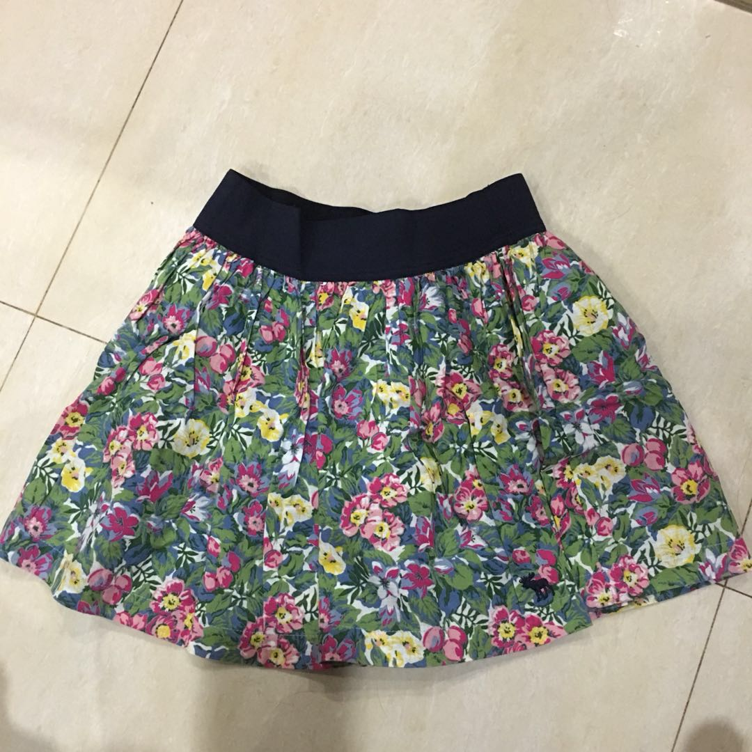 Watch - Skirt Floral abercrombie video