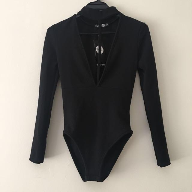 Boohoo Black Bodysuit