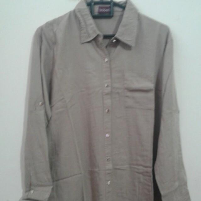 Brown Long Shirt