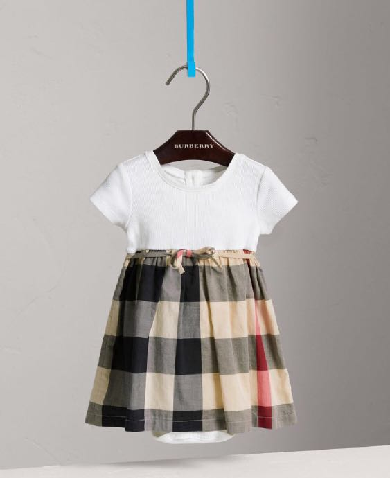 a5109ea3d9ad Burberry girl dress, Babies & Kids, Girls' Apparel on Carousell