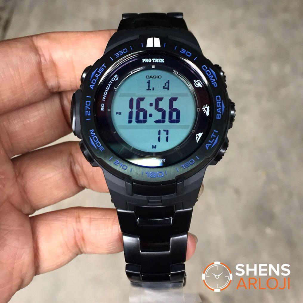 Casio Pro Tek Prw 3 000 1 Amp Hitam Daftar Update Harga Terbaru Protrek 3100y 1dr Jam Tangan Pria Kuning Damar Tali 3000 9b 2 Source