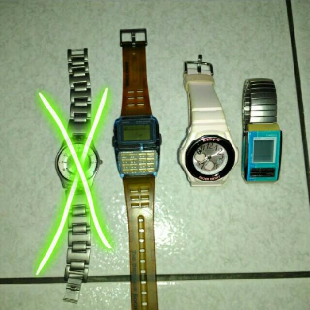 Casio swatch 手錶