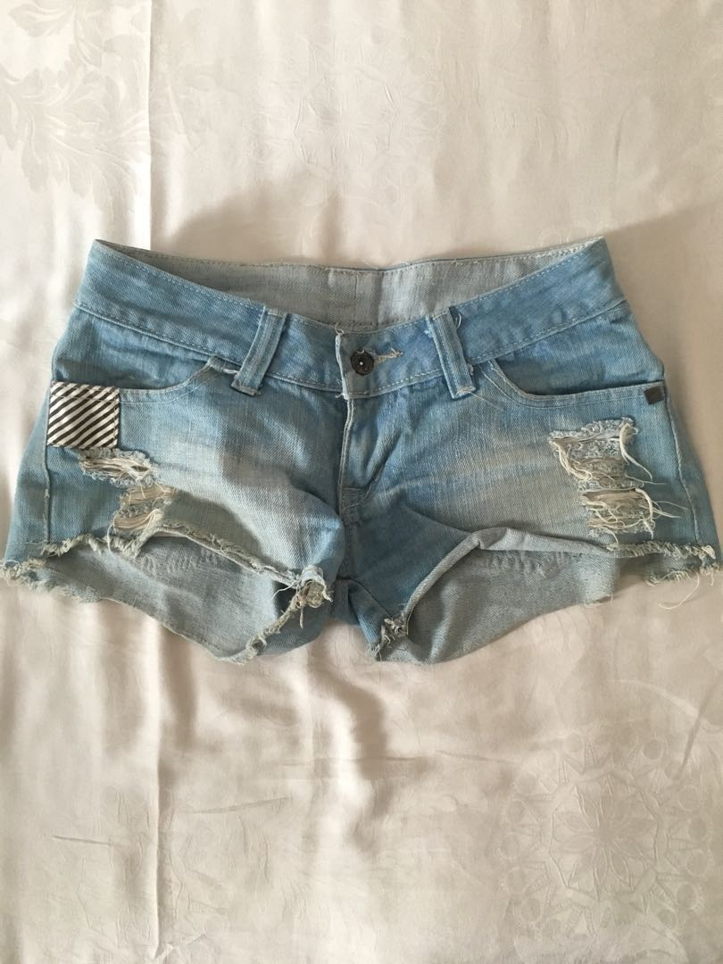 celana pendek ripped jeans high quality