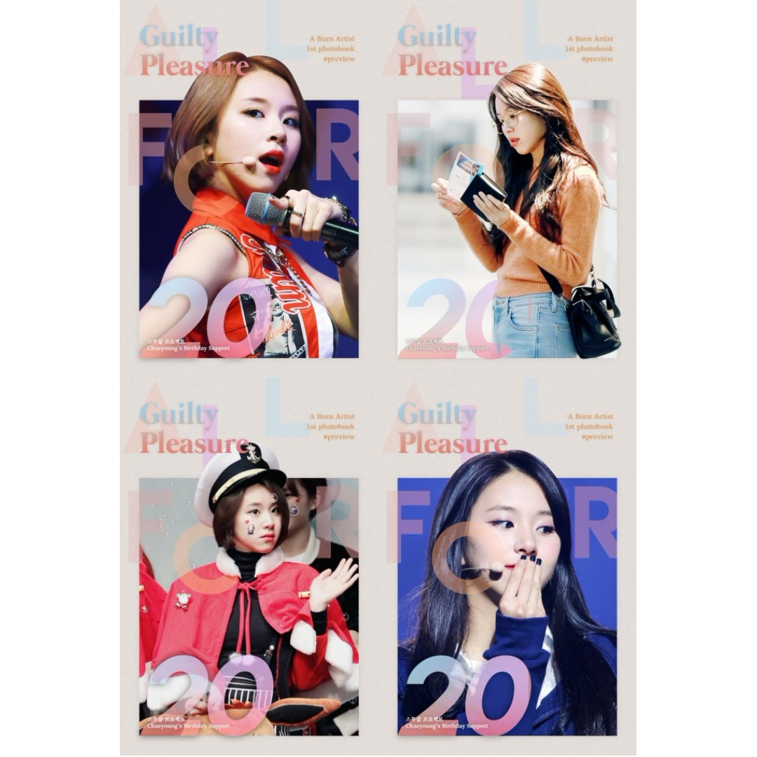 CHAEYOUNG - Trump & Photobook