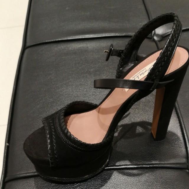 6ce36ad44db Charles & keith Platform Ankle Strap Heels