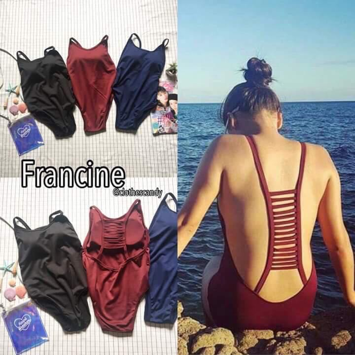 Cut-out Back Padded One Piece Swimsuit