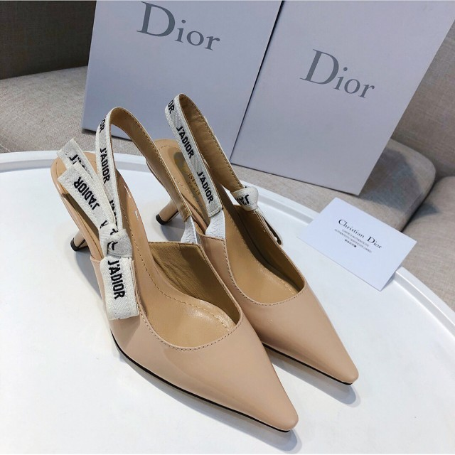 c579f73b443 DIOR Limited Edition J adior Slingback 65mm Patent Pumps