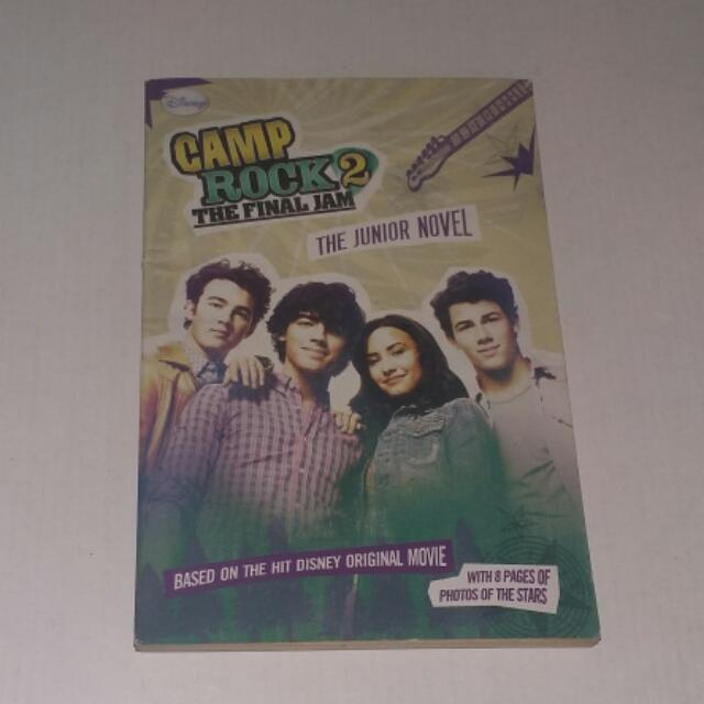 Disney Camp Rock 2 The Final Jam Collectible Book