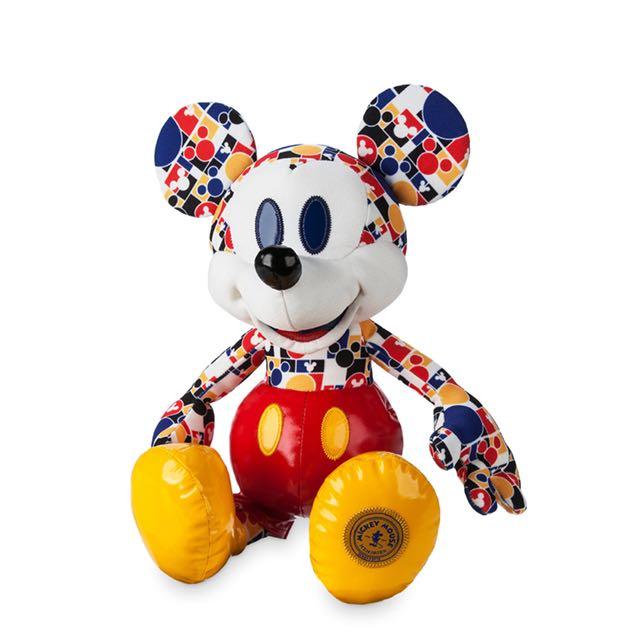 美國迪士尼Disney Mickey Mouse 限量版米奇老鼠娃娃月份紀念玩偶 3月份預購