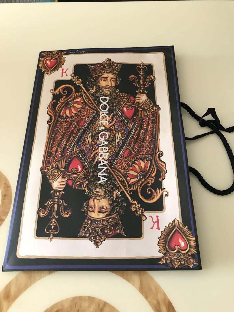 Dolce n Gabbana paper bag (king) 5c96a1cf5f599