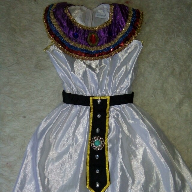 Egypt costume 4-6 yrs old