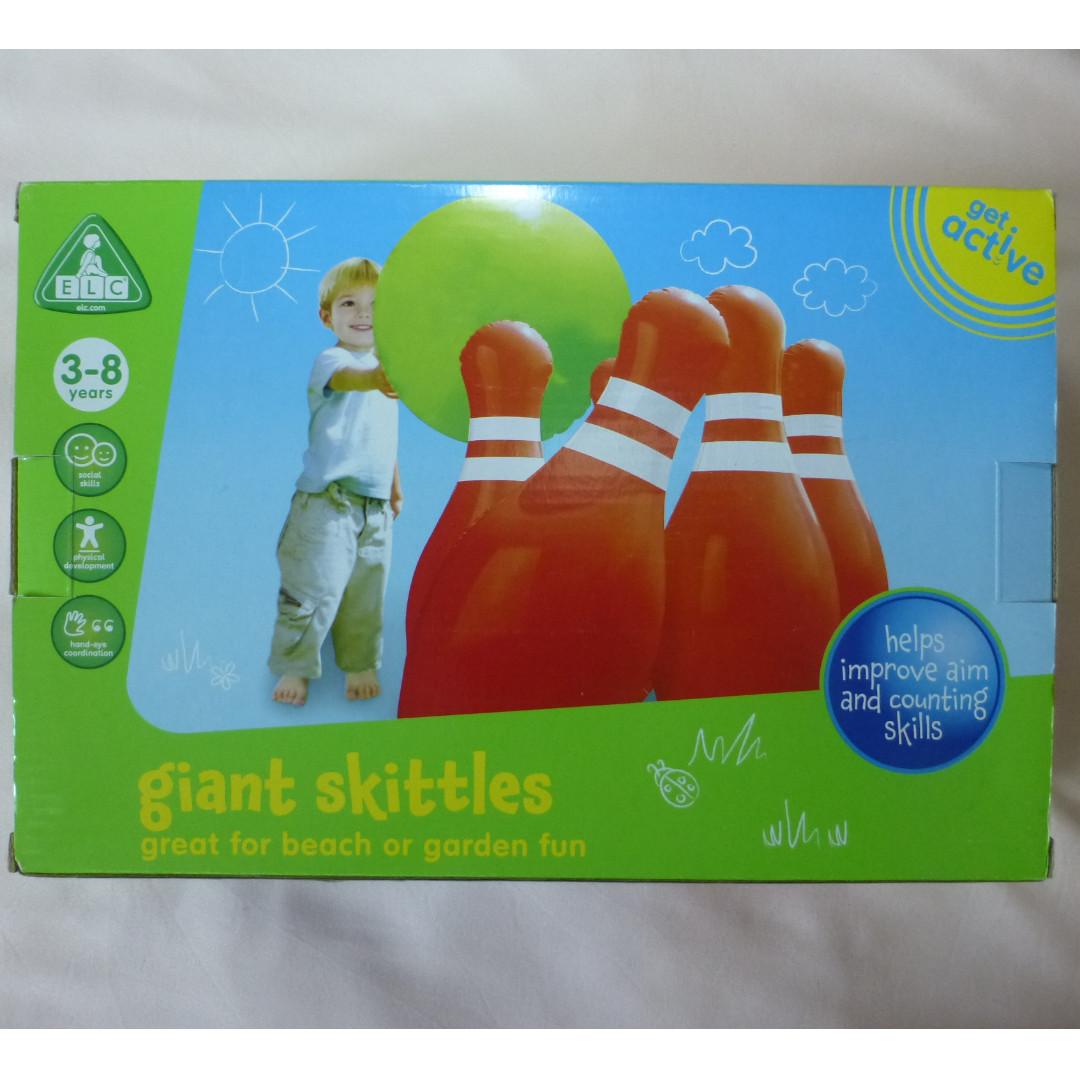 bn elc giant skittles babies kids toys walkers on carousell