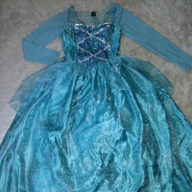 Elsa costume 7-8 yrs old