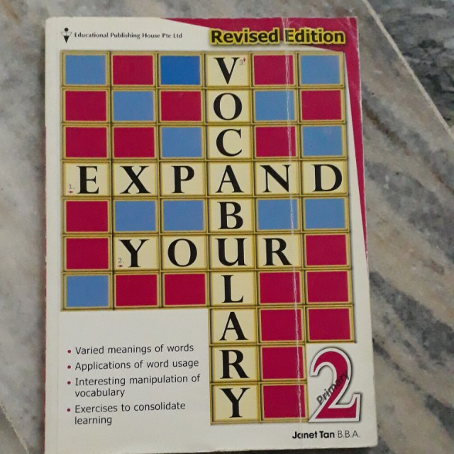 English Vocabulary Book for Primary 2