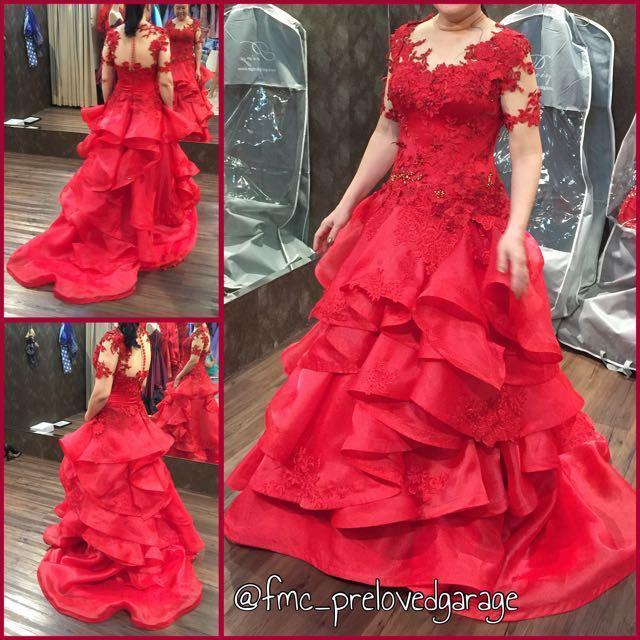 Evening Party Gown Dress Mom Gown Gaun Pesta Mama Women S