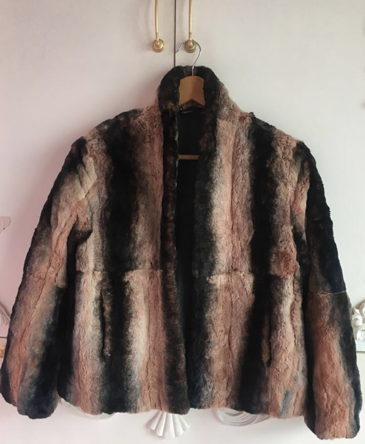Faux Fur Coat made in Italy