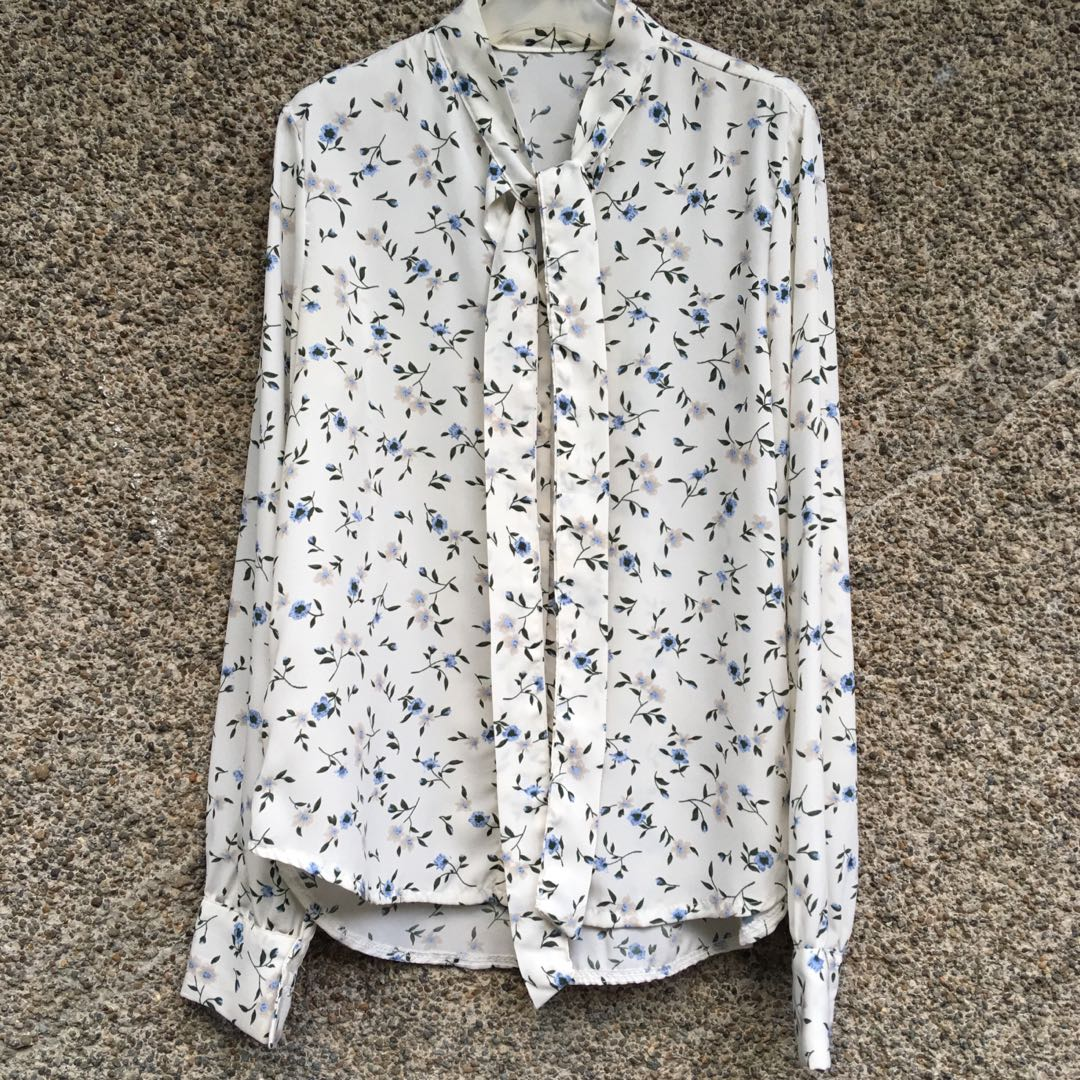 Floral Button Down Longsleeves