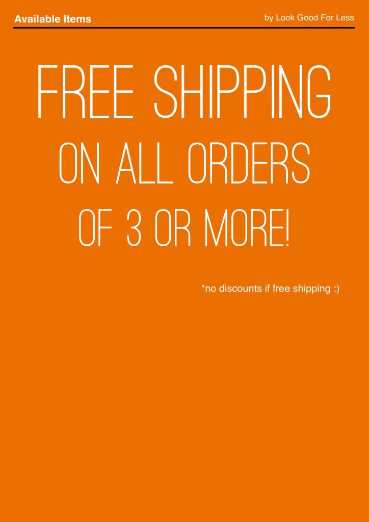Free Shipping!