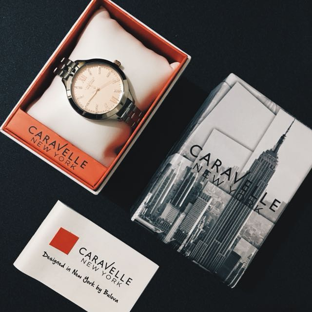 FREE SHIPPING! Caravelle by Bulova Rose Gold Watch