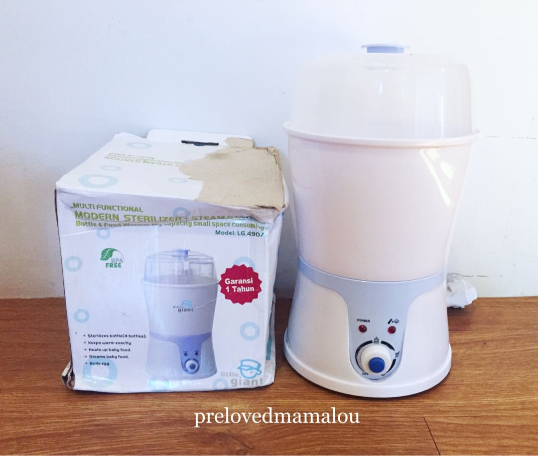 Giant sterilizer and food maker / Portable sterilizer
