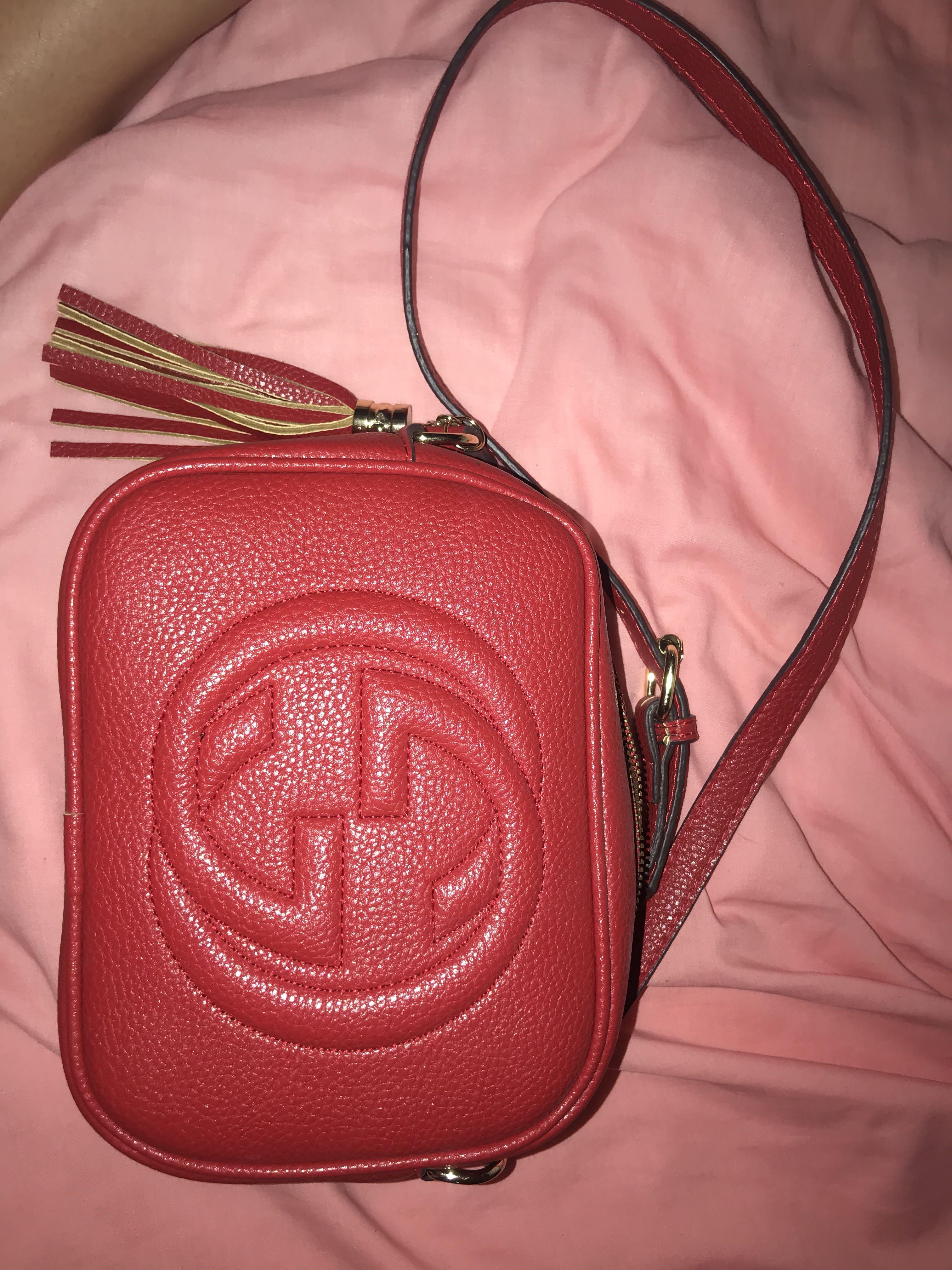 Gucci Soho Bag - Red