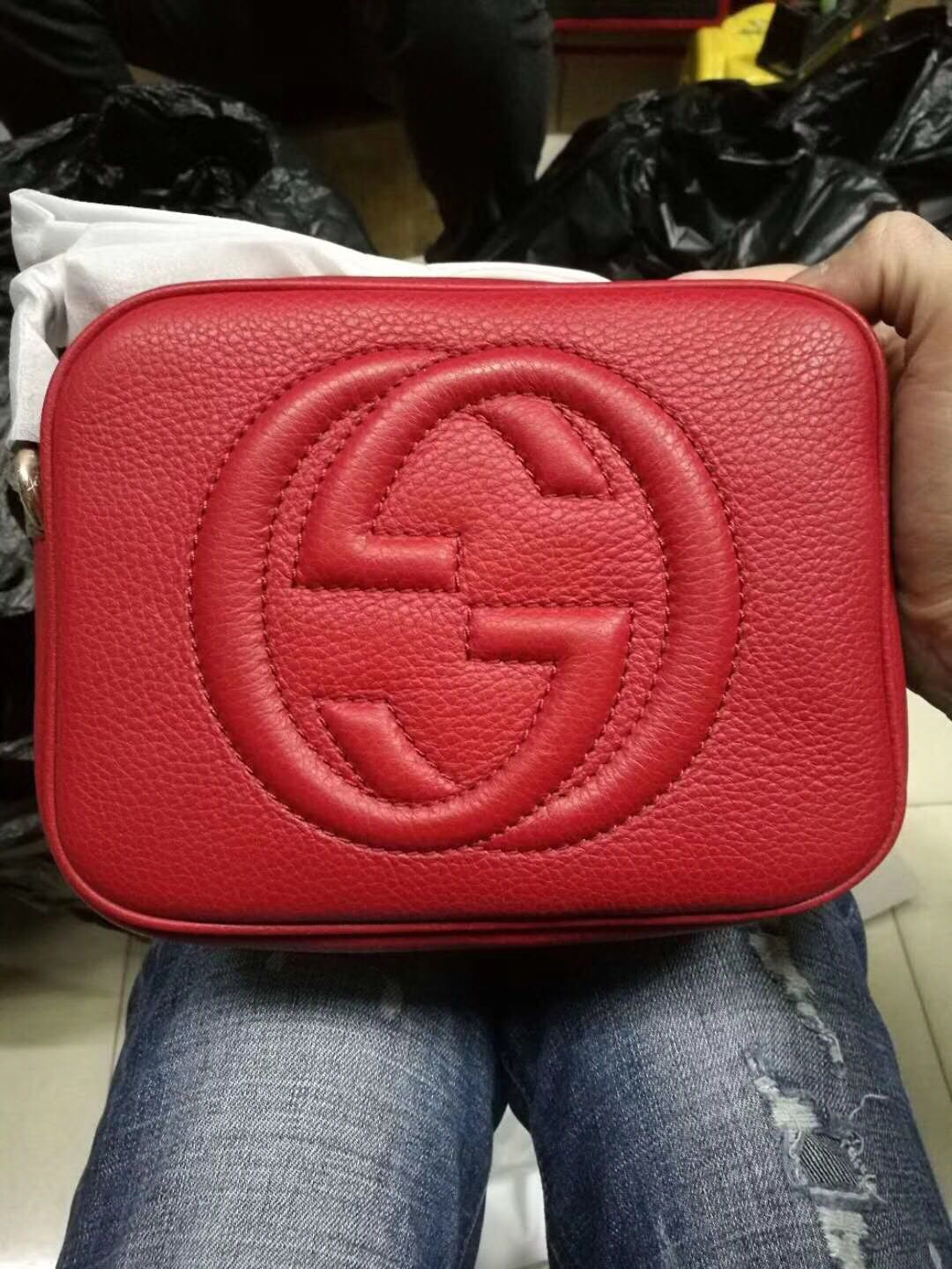 Gucci Soho Disco Bag, Real Picture