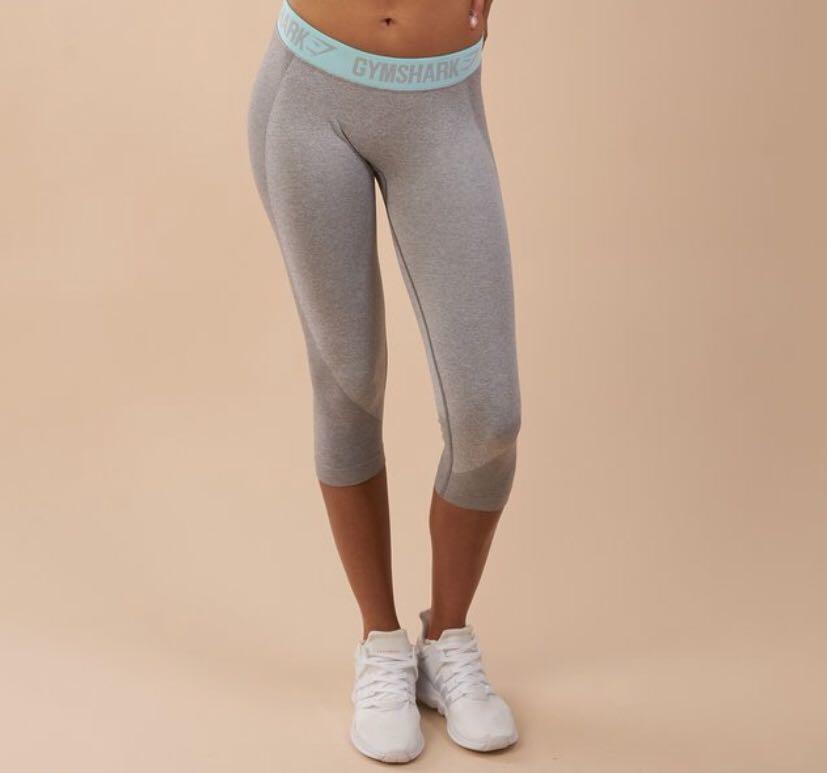 Gymshark CROPPED size small flex leggings