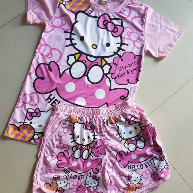 4f46a1f74 Hello Kitty Set, Women's Fashion, Clothes, Dresses & Skirts on Carousell
