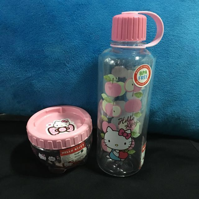 Hello Kitty Tumbler and Food Container