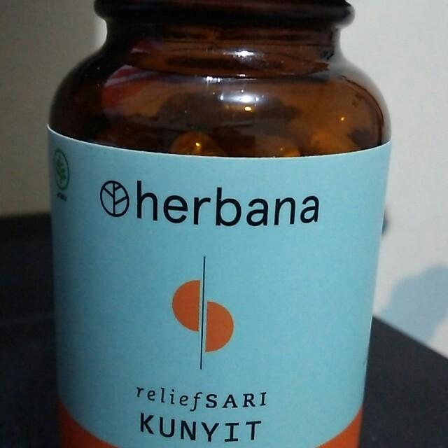 HERBANA RELIEF SARI ( KUNYIT )