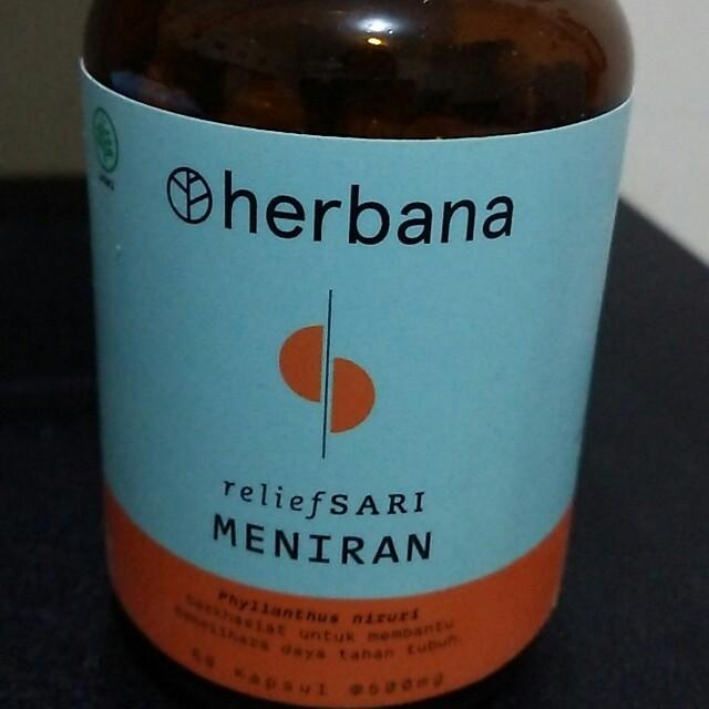 HERBANA RELIEF SARI ( MENIRAN )